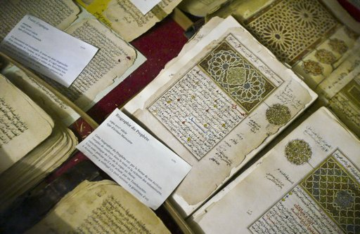 A Turkish cultural institute is holding exhibition of over two thousand manuscripts from the Ottoman Empire